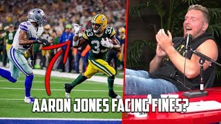 Aaron Jones FINED For Waving During Touchdown?