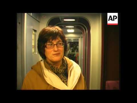 High Speed Train Service Begins Between Munich And Paris