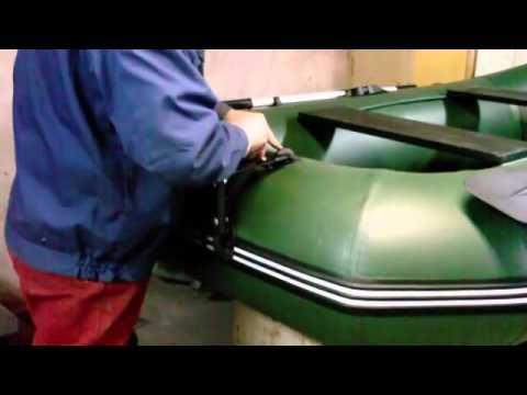видео: Подвесной транец.mp4