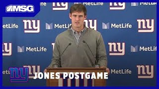 Daniel Jones After 1st Loss: I Have To Play Better | New York Giants