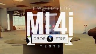 xiaomi mi 4i extreme drop fire tests