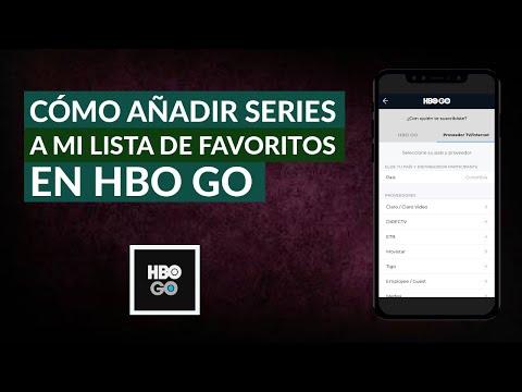 Cómo Añadir Películas y Series a mi Lista de Favoritos en HBO