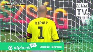 Kisvárda Master Good - Szombathelyi Haladás | 4-1 (2-0) | OTP Bank Liga | 8. forduló | 2018/2019
