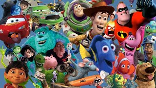 Every Pixar Movie Ranked