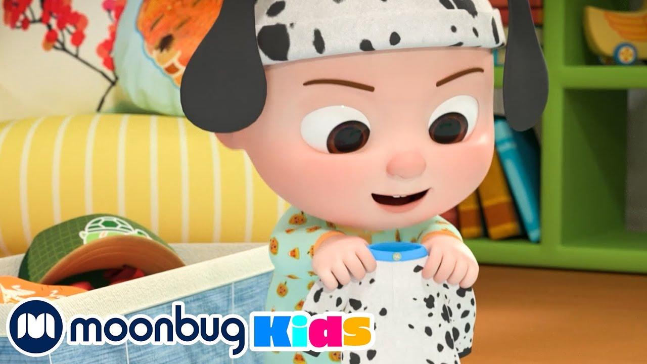 Halloween Costume Song | @Cocomelon - Nursery Rhymes | Kids Education | MOONBUG KIDS