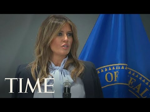 Melania Trump Warns Of Online Bullying As Her Husband Slings Insults On Twitter | TIME