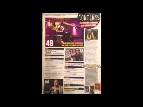 Rock music magazine- KERRANG!