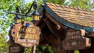 360º Ride on Seven Dwarfs Mine Train at Magic Kingdom