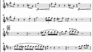 The green hornet theme - Al Hirt - sheet music - notes