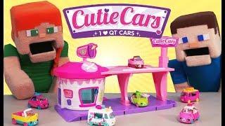 Cutie Cars Drive Thru Diner Playset Shopkins Moose Toys Limited Edition Unboxing & Batman Hotwheels