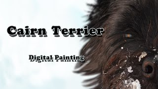 Thomsen The Cairn Terrier - Digital Painting (with Voiceover!)