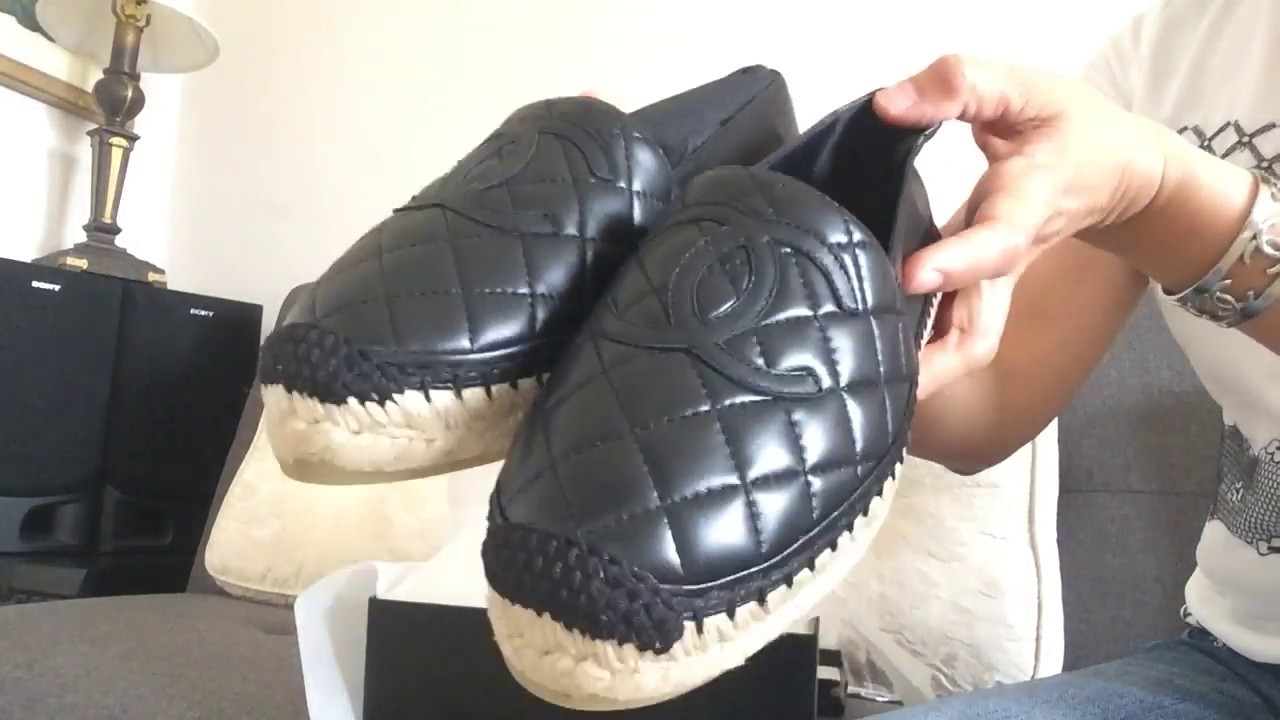 Chanel Espadrilles leather Spring