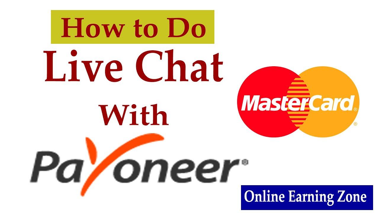payoneer contact chat