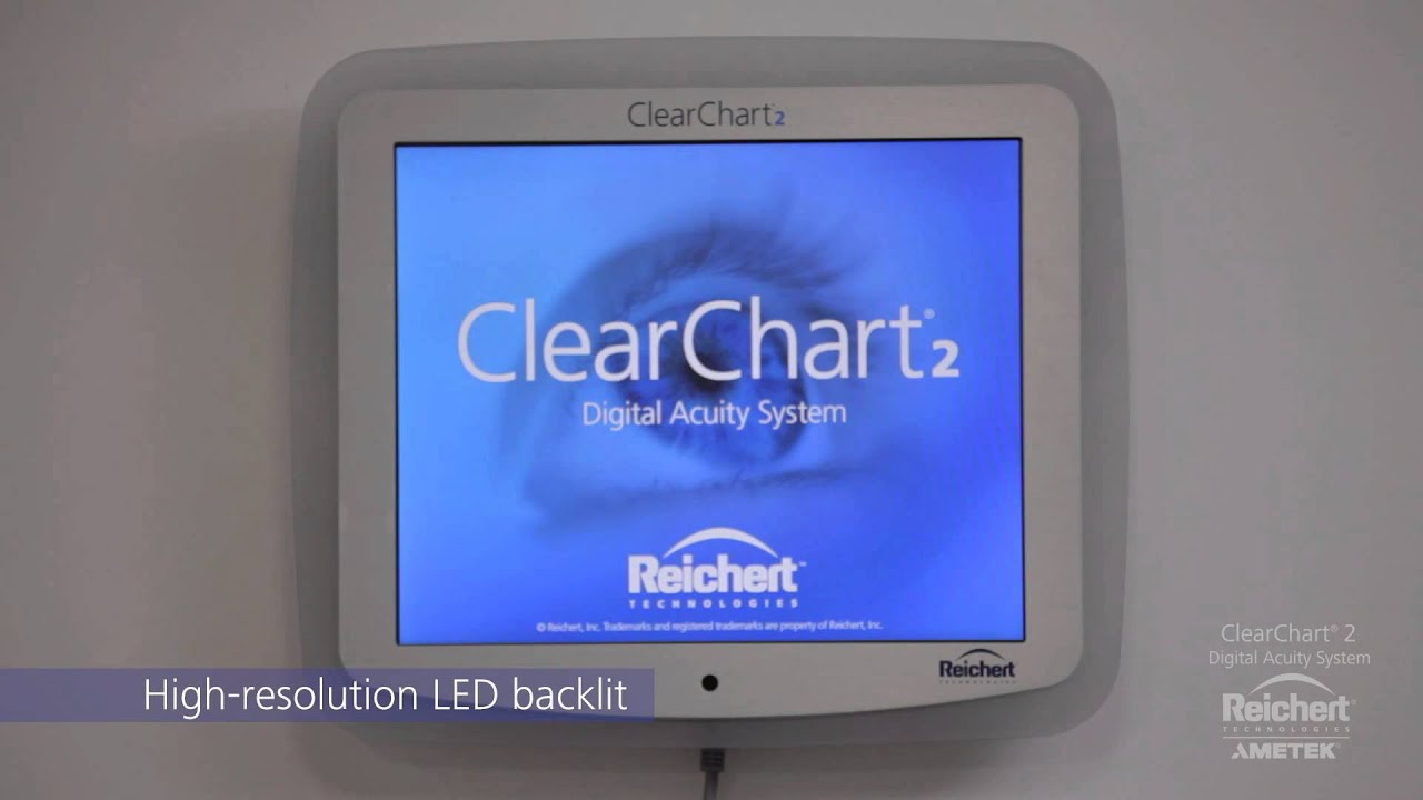 Reichert clearchart 2 digital acuity system youtube geenschuldenfo Image collections