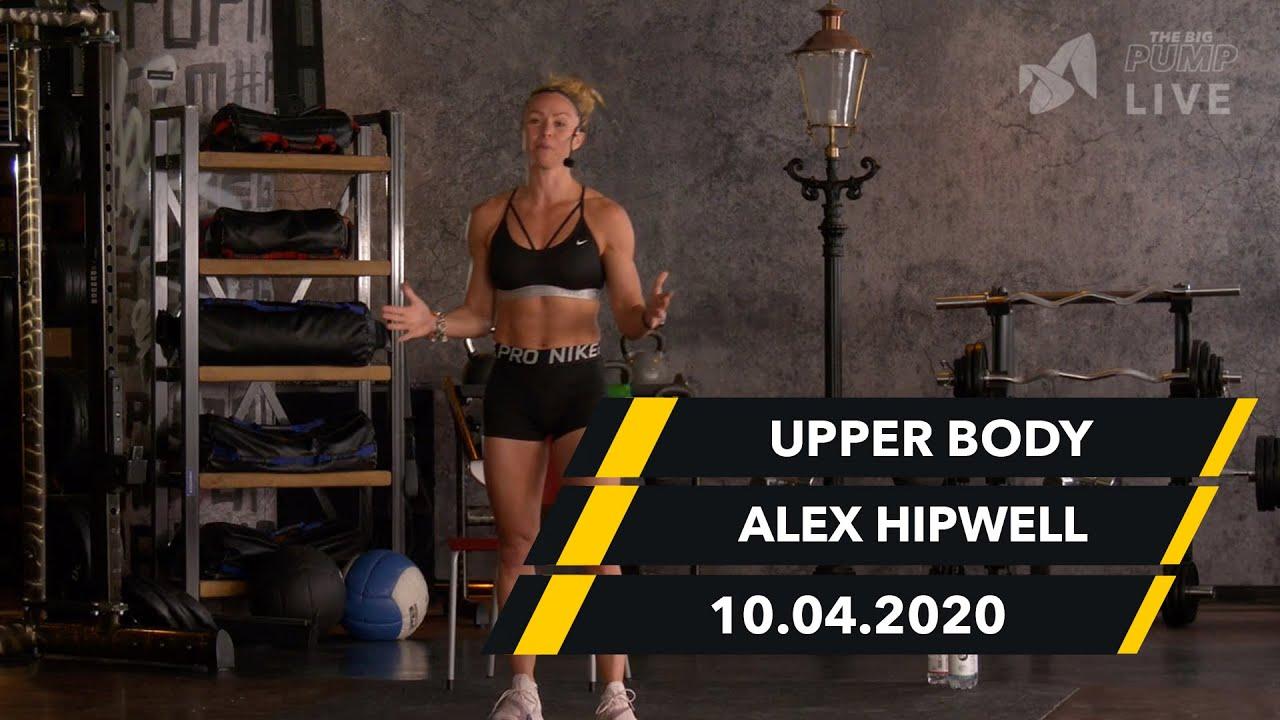 Oberkörper Workout - Alex Hipwell   10.04.  McFIT   The Big Pump