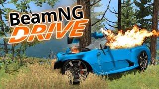 САМЫЕ ЖЕСТКИЕ АВАРИИ - BeamNG.Drive