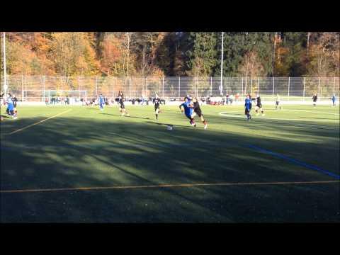 Frankfurt International School SCIS JV Girls Soccer Zurich 2014
