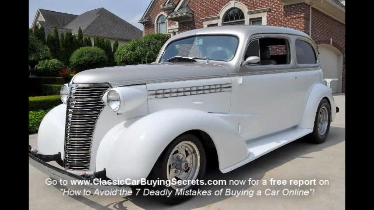 1938 Chevy Street Rod Classic Muscle Car for Sale in MI Vanguard ...