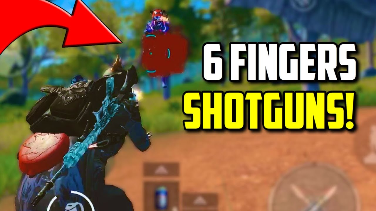 SIX FINGER claw player with SHOTGUNS is OP?! | PUBG Mobile