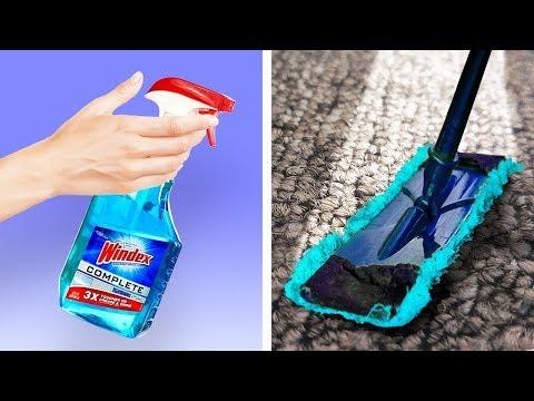 Простые и гениальные лайфхаки для уборки