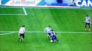 Messi's Great Goal 4/27/13 makes  Ray Hudson speak in tongues