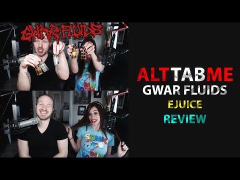 GWAR Fluids E-Juice Blind Taste Test Review!