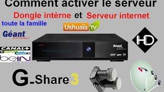 [TUTO] Comment activer internet et le serveur interne de Géant 2500 hd new