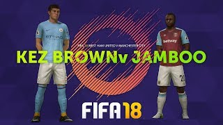 FIFA 18 ESPORTS - WEST HAM vs MAN CITY!