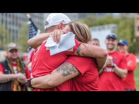 Man Meets Biological Mom Before Pittsburgh Marathon