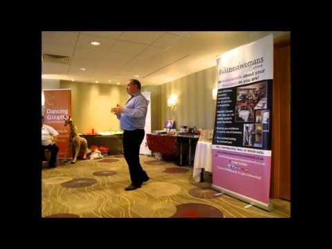 Colin Mclean speaks at the BWN Essex