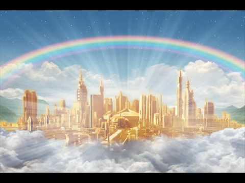 небесный хор  славит Бога .  мне тоже хотелось там быть...