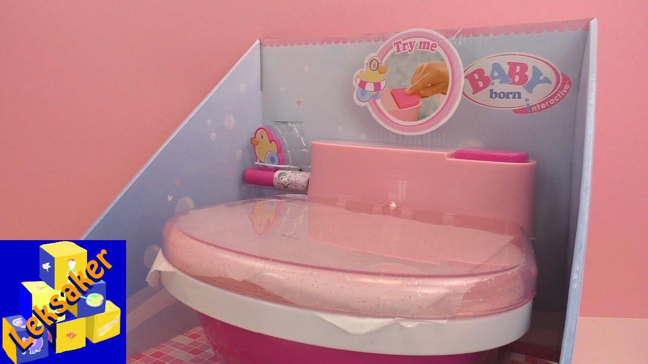 baby born toalett - baby born kissar på potten - baby born interactiv  (Mattel) 630df4ef3ea80
