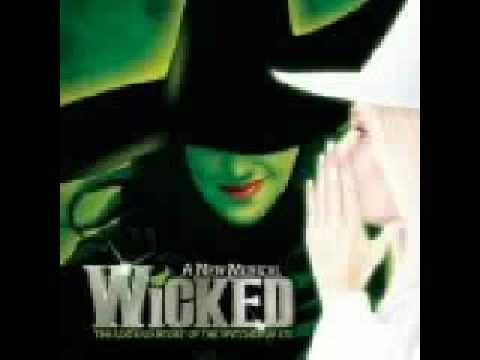Popular Lyrics From  Wicked