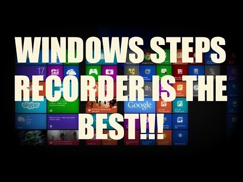 HOW-TO: Use Windows Steps Recorder On Windows 7/8 To Automatically Create Step-By-Step Instructions