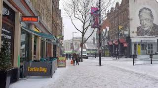 Snowy day in Croydon 😨