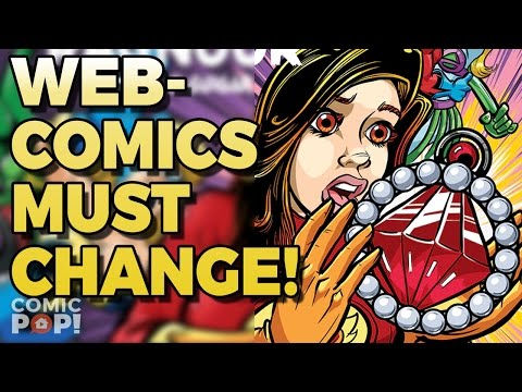 WEBCOMICS MUST CHANGE OR DIE! | The Elseworlds Exchange Podcast