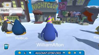 Club Penguin 3D - Beta Party Footage