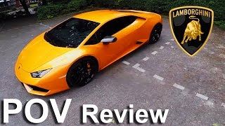 Lamborghini Huracan Review POV Test Drive - DMC Carbon kit & FI Exhaust