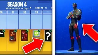 BATTLE-PASS SEASON 4 THE WE !!! Fortnite Battle Royale Season 4 Battle Pass!!