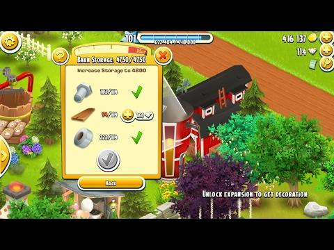 Hay Day - LEVEL 102 Yeah! Scheunen Upgrade & FArming Deutsch