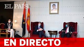DIRECTO | Declaración institucional de SÁNCHEZ en ANGOLA