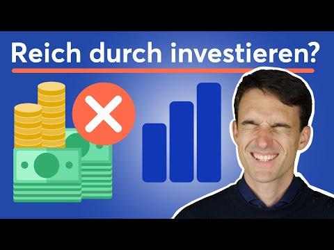Warum du durch investieren (wahrscheinlich) nicht reich wirst