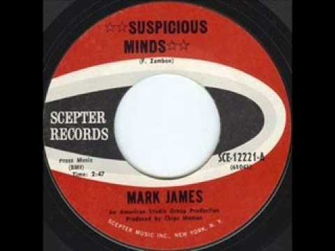 Mark James  Suspicious Minds The Original Version