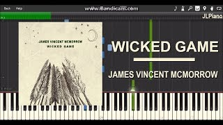 Wicked Game - James Vincent McMorrow (Synthesia Piano Solo) *SHEET MUSIC*