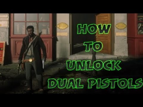 How To Unlock Dual Pistols - RDR2 Online