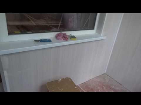 Косметический ремонт лоджии,улица Гагарина,Оренбург