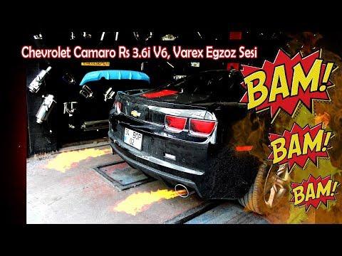 Chevrolet Camaro Rs 3.6i V6, Varex Egzoz Sesi
