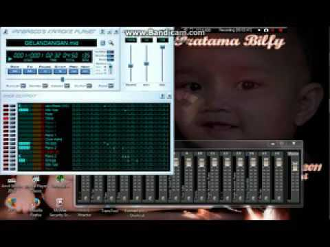 GELANDANGAN - MIDI SF2 KARAOKE SAMPLING
