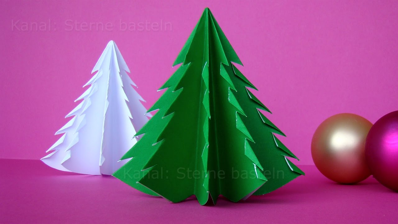 Kreativ Basteln Weihnachten How To Fold A Christmas Tree With Paper Christmas Crafts Origami Christmas Tree