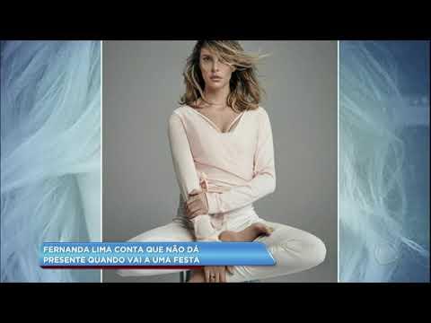 Hora da Venenosa: Fernanda Lima conta que não leva presentes quando vai em festas